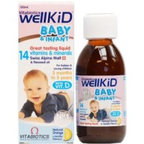 Wellkid Baby Syrup – 150ml