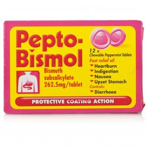 Pepto-Bismol Chewable Tablets 12