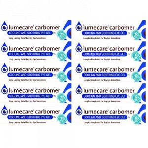 Lumecare Carbomer Cooling and Soothing Eye Gel x10