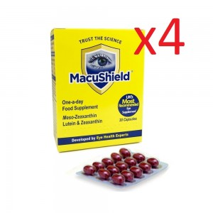 MacuShield Original 120 Capsules 4 months supply (4x30 caps)