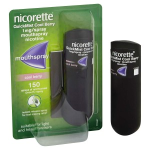 Nicorette Quickmist Cool Berry 1mg